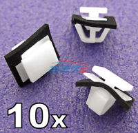 10x Kia & Hyundai Side & Door Moulding & Sill Cover Trim Clips Kia- 87758-38000