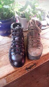 Leather Hiking Boot Scarpa/brasher/goretex.restoration Service.pm For Details.