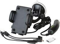 Aktive RICHTER Handy Smartphone Auto Halterung Halter mit Ladekabel Ladefunktion