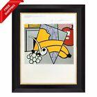 Roy Lichtenstein - Cubist Still Life, Original Hand Signed Print with COA