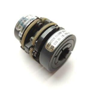 ZERO-MAX 6-18 9mm NKW x 15mm KEY Double-Flex Motor Coupler 9/15mm Bore 180in-lbs