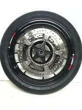 PAIR WHEELS S1000 RR 2012 STRAIGHT