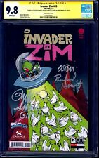 Invader Zim #45 GALAXYCON VARIANT CGC SS 9.8 signed x3 Horvitz Simons Duarte