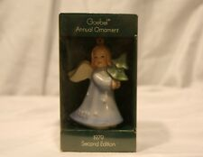 Goebel Annual Ornament 2nd Edition 1979 Angel with Tree w/Box Tmk 5 West Germany