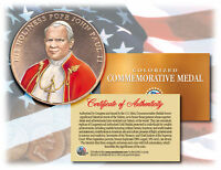 Colorized POPE JOHN PAUL II *Commemorative Medal* Bronze Coin U.S. Congressional