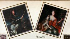 Monaco Bogen Philatelistisches Efc 39 S Prinzenzepter und Prinzessinnen