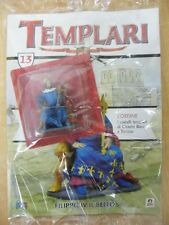 TEMPLARI 13 FILIPPO IV IL BELLO SOLDATINO PIOMBO HOBBY & WORKS