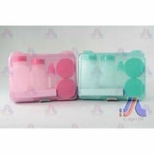 Cosmetic Set w/ Case Green