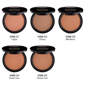 "1 NYX Matte Bronzer - Face & Body - MBB ""Pick Your 1 color"" Joy's cosmetics"