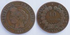 10 Centimes Cérès 1889 A !!