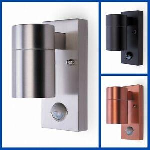 Outdoor Garden Wall Door Security GU10 PIR Motion Sensor Downlight Light Fixture