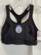NEW Champion High Support extreme Motion Control Black Sports Bra XL NWT