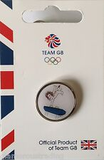 OFFICIAL TEAM GB RIO 2016 GYMNASTICS OLYMPIC PICTOGRAM PIN