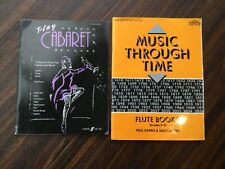 Music through time book 3 for Flute & Piano + Play Cabaret for Flute and Piano|
