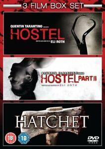 Hostel/Hostel: Part II/Hatchet [DVD][Region 2]