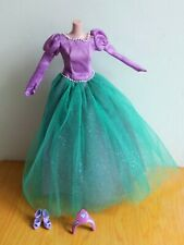 Barbie Ballkleid Fairytale Prinzessin Collection Arielle Mattel TOP -no doll-