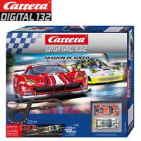 Carrera 30195 Digital 23.95 FT 1/32 Passion of Speed Ferrari / Porsche Slot Car