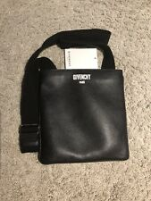 Givenchy Logo 'Paris Givenchy' Calf Leather Messenger Bag BJ05252621