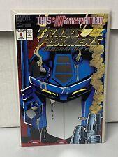 Marvel Comic Book Transformers Generation 2 #1