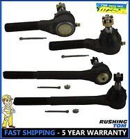 For Chevrolet S10 Blazer GMC 4WD Inner /& Outer Tie Rod Ends ES2249RLT//ES2072RLT