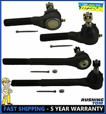 4Pc Outer & Inner Tie Rod Kit for Chevrolet S10 Blazer Bravada Sonoma Jimmy 4WD