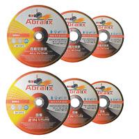 Trennscheibe 115 125 230 Flexscheibe INOX Edelstahl Metall Stahl PVC Extradünn