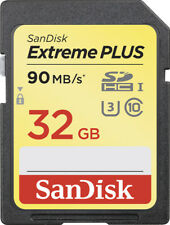 SanDisk - Extreme PLUS 32GB SDHC UHS-I Memory Card