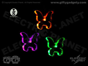 Butterfly LED Mobile Colour-Changing Light, Night Light, Battery Operated Gift