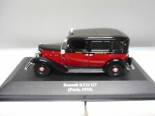 RENAULT KZ11 G7 1933 TAXI PARIS ALTAYA IXO 1:43