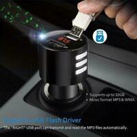 Usb2.0 Bluetooth Auto Ladegerät Led Schirm Fm Transmitter Drahtloses Radio P1J9