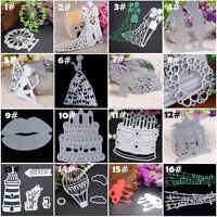 Metal Cutting Dies Stencil Scrapbook Paper Card Craft Embossing DIY Die Cut Tool