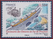 2011 FRANCE N°4564** Train, Locomotive, Chemins de Fer de Provence MNH