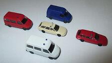 Rietze  AUDI  A6 und Ford Transit Einsatzfahrzeuge 1:160 Spur N - 5 Stück > Neu