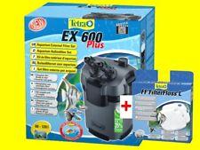 Tetra EX 600 plus Aquarium Außenfilter inkl Filtermaterial f. Aquarien 60-120L