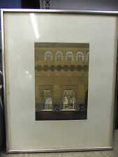 Picture limited edition wood chip print ISLAMIC 68/150 signed 43x55cm
