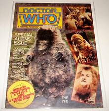 DOCTOR WHO MAGAZINE # 53  October 1981  FN  Special Aliens Issue