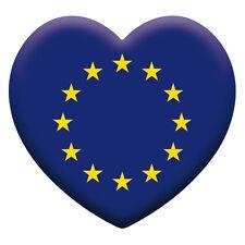 Artisticky EURO-HEART bumper sticker Car/Van/Home/Office/Anything – Freepost