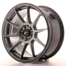 Un Cerchio in Lega Japan Racing JR11 17x8.25 ET35 5x112/114.3 Nero
