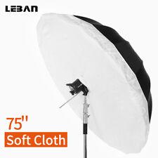 "75"" 190cm or 70'' 178cm Studio Photography Umbrella Diffuser Cover For Umbrella"