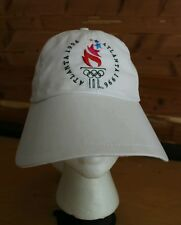 Rare Olympic Games Atlanta 1996 Ladies Adjustable Oversize Hat Cap Collectible