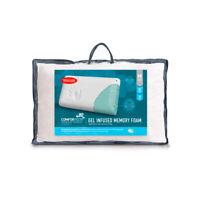 Tontine Comfortech Gel Infused Memory Foam Pillow | Firm Softness |Medium Height