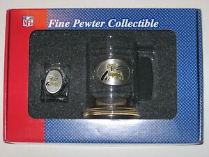 New Orleans Saints Glass Tankard Mug & Shot Glass Boilermaker Set