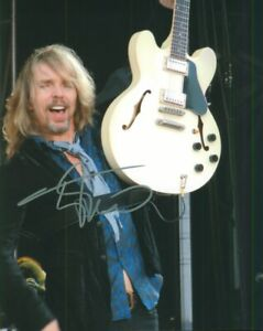 Tommy Shaw Autographed 8x10 Photograph Singer Songwriter Rock Band Styx COA TTM