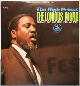 LP Thelonious Monk – The High Priest
