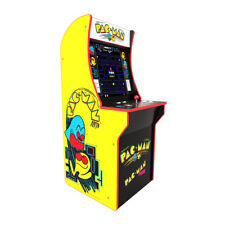 ARCADE 1UP PAC MAN & PAC MAN PLUS VIDEO GAME 4FT TALL - Brand New