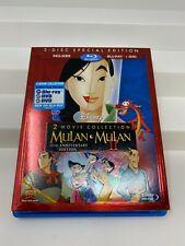 Mulan/Mulan II - 2 Pack (Blu-ray/DVD, 2013, 3-Disc Set, Special Edition)