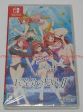 New Nintendo Switch The Quintessential Quintuplets Gotoubun no Hanayome Japan