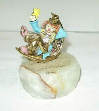 1989 Ron Lee Signed/Numbered Catch A Falling Star Statue Figurine, Free Shipping