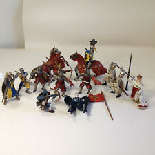 Schleich Germany King, Knights, Horses + More, Miscellaneous Lot of 14