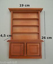 étagère, buffet, miniature, maison de poupée, collection, vitrine  M2